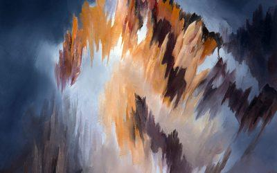 Peinture Paysage Montagne: Jean-Georges Inca