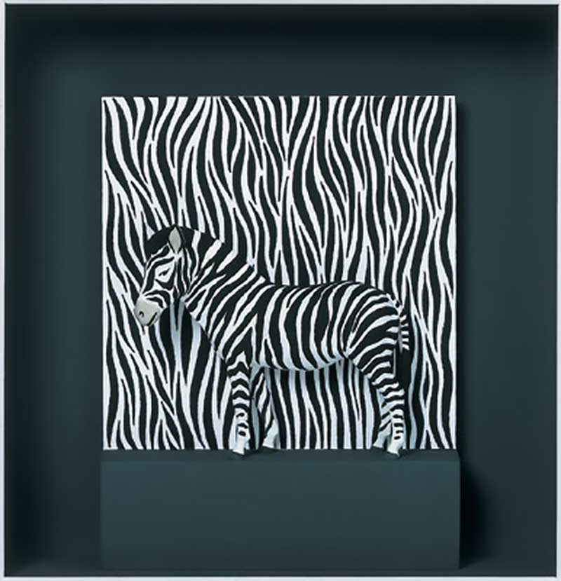 Volker Kühn - Zebra - Art in Boxes