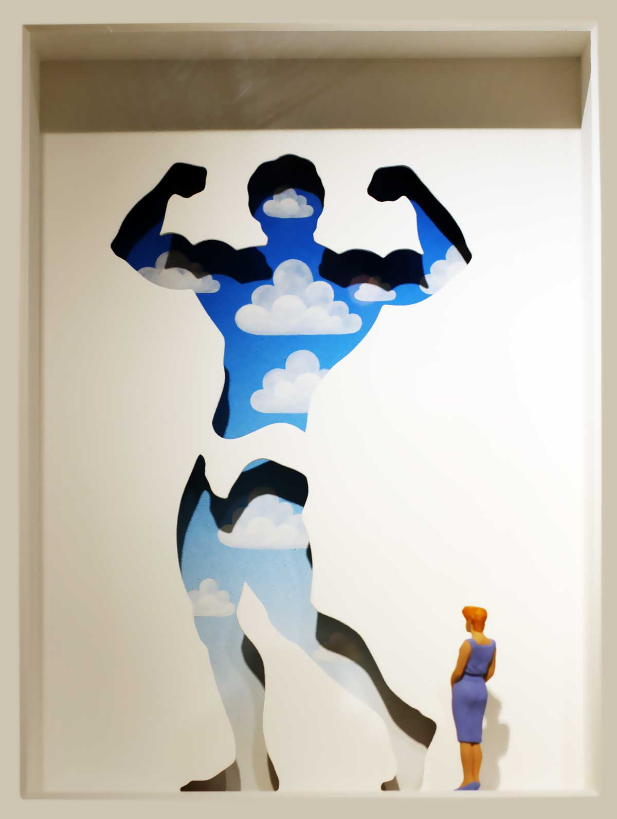 Volker Kühn - hommage à Magritte - Art in Boxes