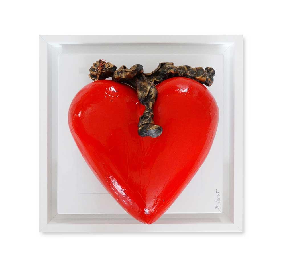 Bernard Saint Maxent - After love - 40x40cm