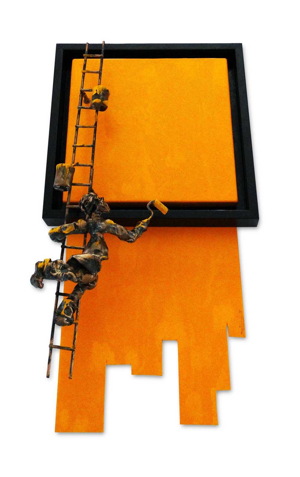 Bernard Saint Maxent - In Progress - 40x80cm