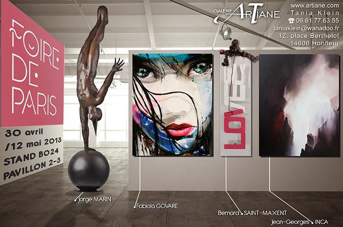 Galerie Artiane - foire de Paris 2013
