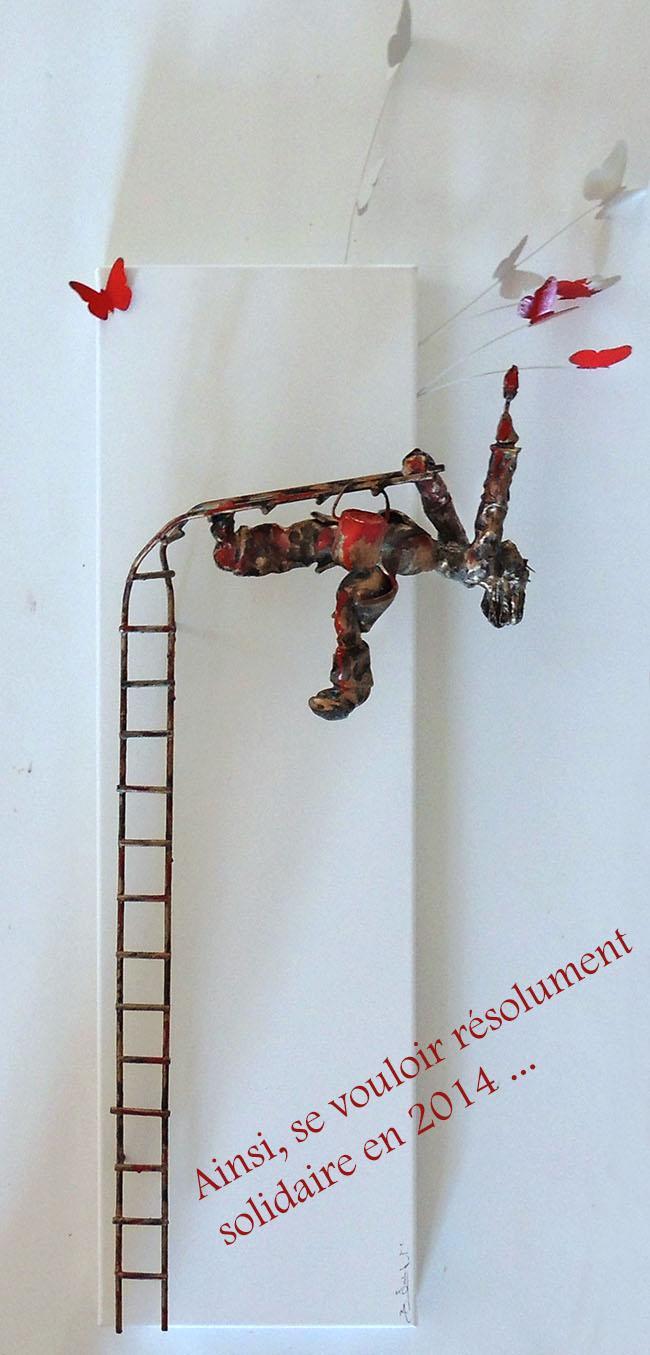 Bernard Saint Maxent - FlyingButterflies 650