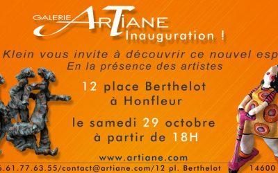 La date d'inauguration de la galerie ArTiane se rapproche