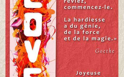 Valentinus – Carte de St. Valentin – Bernard Saint Maxent