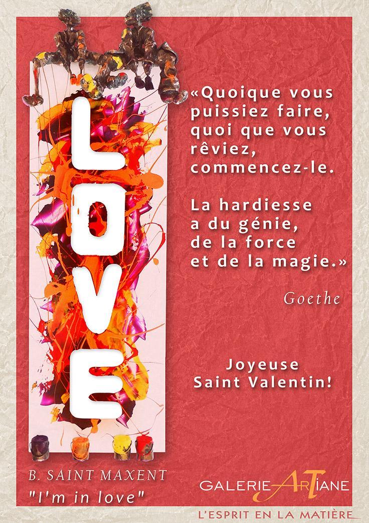 Saint Valentin - Bernard Saint-Maxent