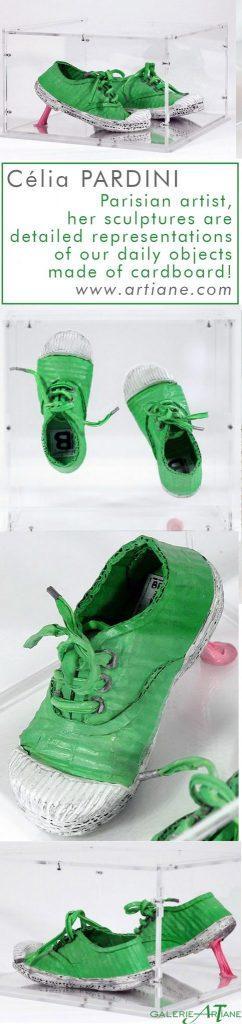 Chewing-gum -  25x14x24cm - Cartons, pigments, liant vinylique