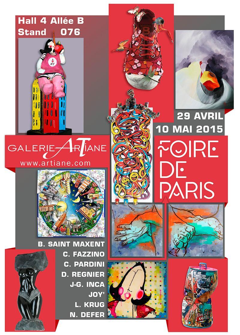 Galerie Artiane @ Foire de Paris 2015