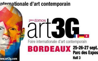 Salon Art Contemporain de Bordeaux – Invitations pour art3g