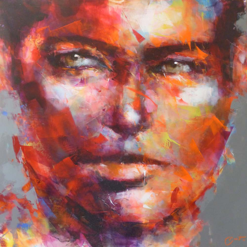 peintre portraitiste contemporain Berto