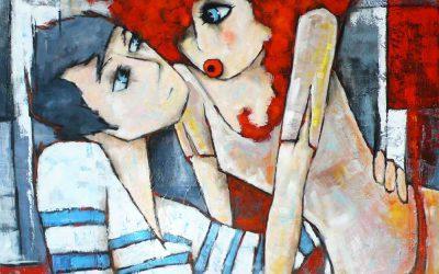 Peinture bretonne et normande contemporaine:Virginie Matz