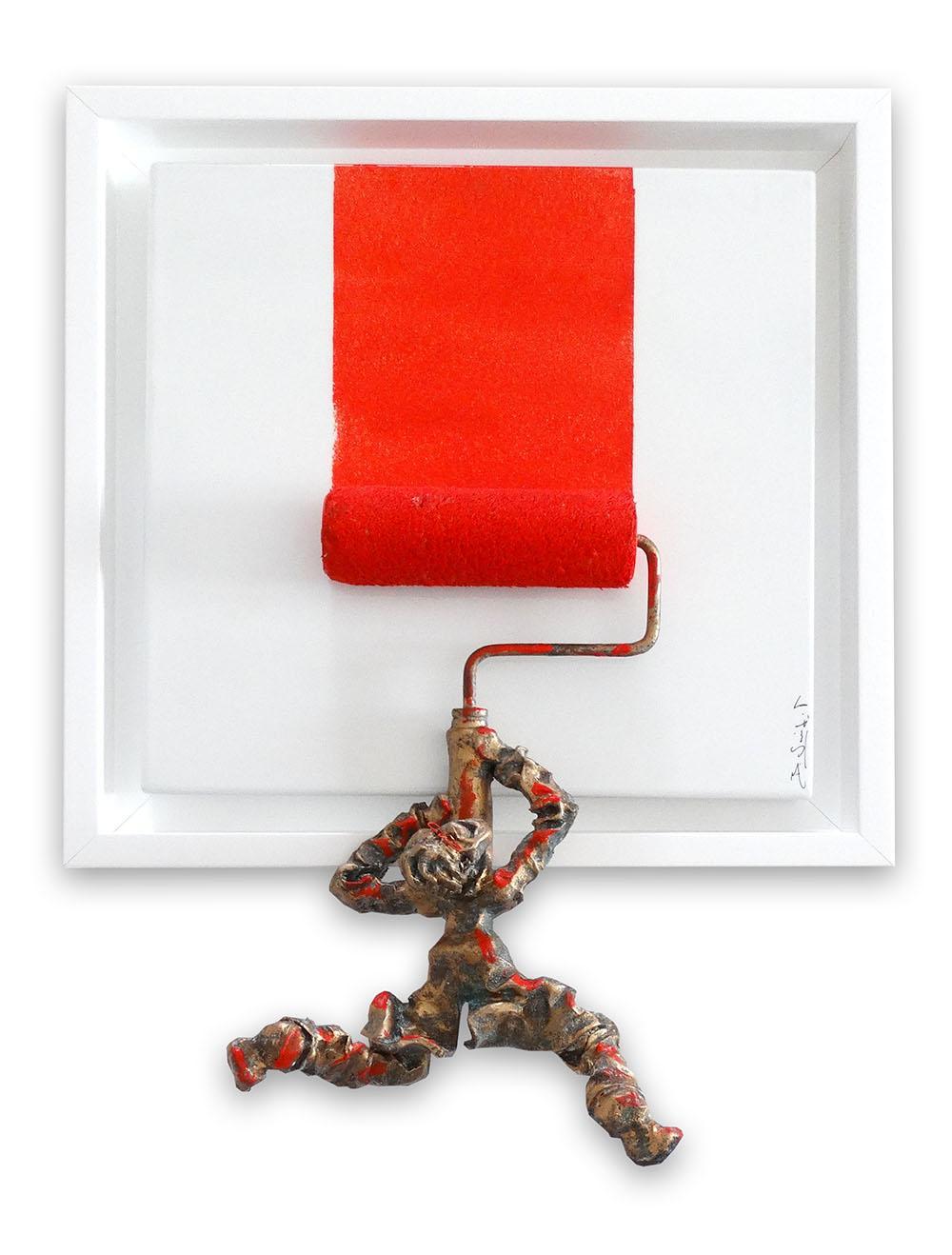 Bernard Saint Maxent - X-game - 50x50cm