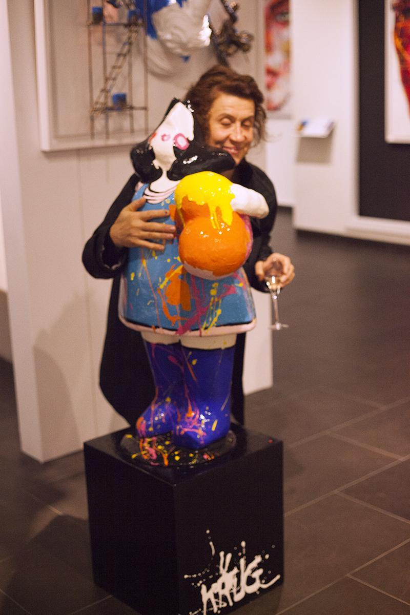 Richard Orlinski Wild Kong - Galerie Art Toison d'Or - Bruxelles - Artiane