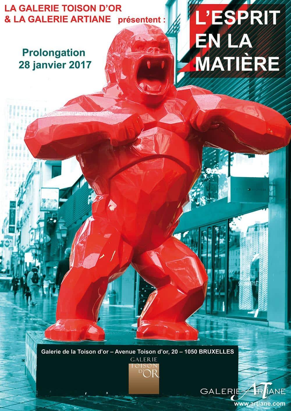 voeux galerie Honfleur Bruxelles 2017