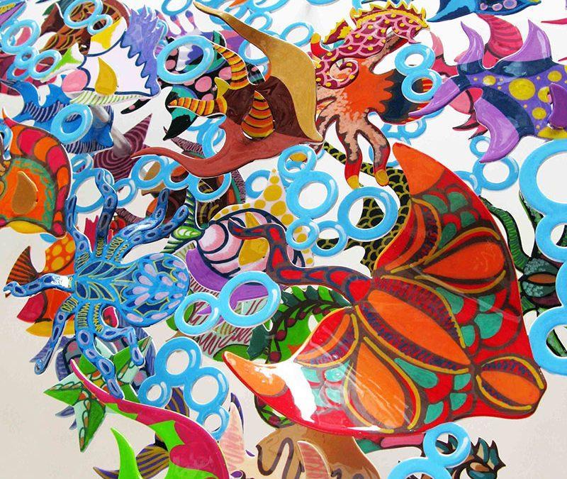 David Kracov Art – Sculptures murales