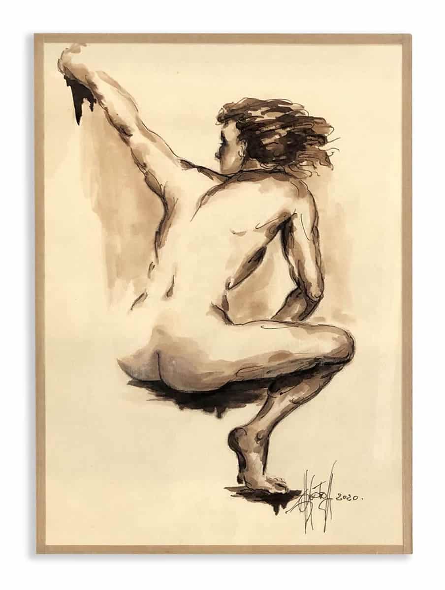 peintures de nus